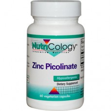 Nutricology Zinc Picolinate (25mg, 60 Capsules)