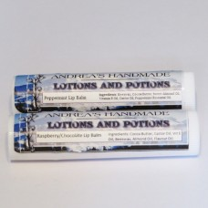 Andrea's Lotions and Potions Peppermint Lip Balm (5g)