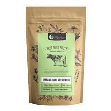 Nutra Organics - Beef Bone Broth Powder (100g, Herb & Garlic)