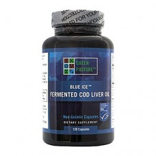 Green Pasture Fermented Cod Liver Oil (120 Capsules)