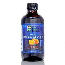 Green Pasture Fermented Cod Liver Oil (237ml, Oslo Orange liquid)
