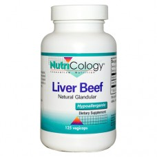 Nutricology Beef Liver (125 Capsules)