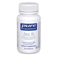 Pure Encapsulations Zinc Picolinate (15mg, 60 Capsules)