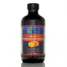 Green Pasture Fermented Skate Liver Oil (240ml, Spicy Orange liquid)